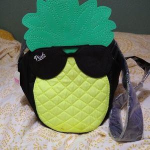 PINK Pineapple Cooler Bag NWT